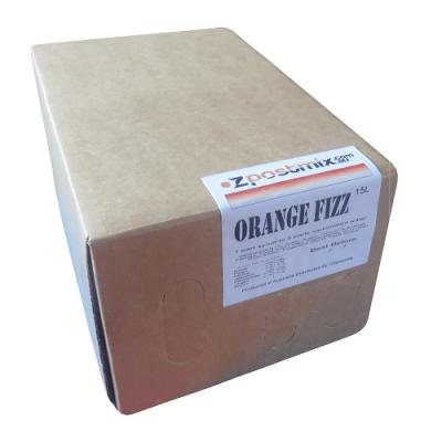 orange fizz postmix syrup