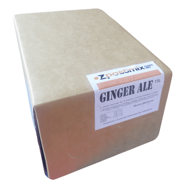 Ginger ale postmix syrup 15 litre