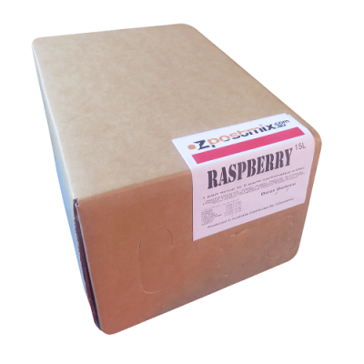 Raspberry postmix syrup